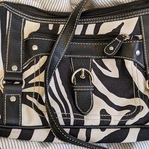 Zebra Print Purse, Handbag